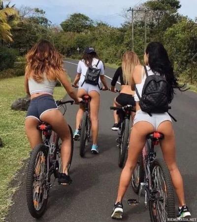 На колело